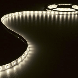 Ruban LED Blanc Chaud 12V 10mm x 5m adhésif 300 LEDS IP61