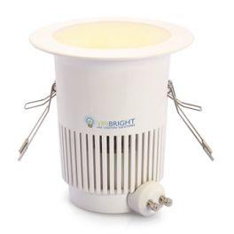 Plafonnier LED GU10 8W 230V blanc neutre 700 Lumens