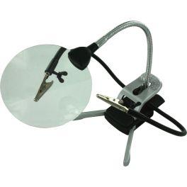 Loupe LED de travail type troisième main lentille 110 mm