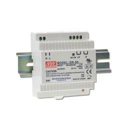 Alimentation LED 12V 30W Entrée 230VAC Rail DIN