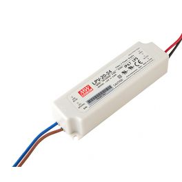 Alimentation LED 24V 20W IP67 Entrée 230VAC