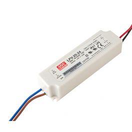 Alimentation LED 24V 20W IP67 Entrée 230VAC