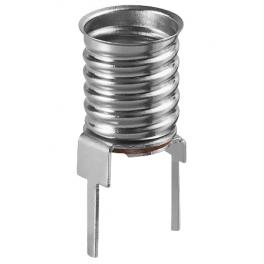 Lot de 10 douilles E10 pour lampe de signalisation pour circuit imprimé