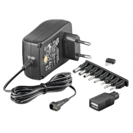 Alimentation Multiple 3-12V 1500 mA Eup