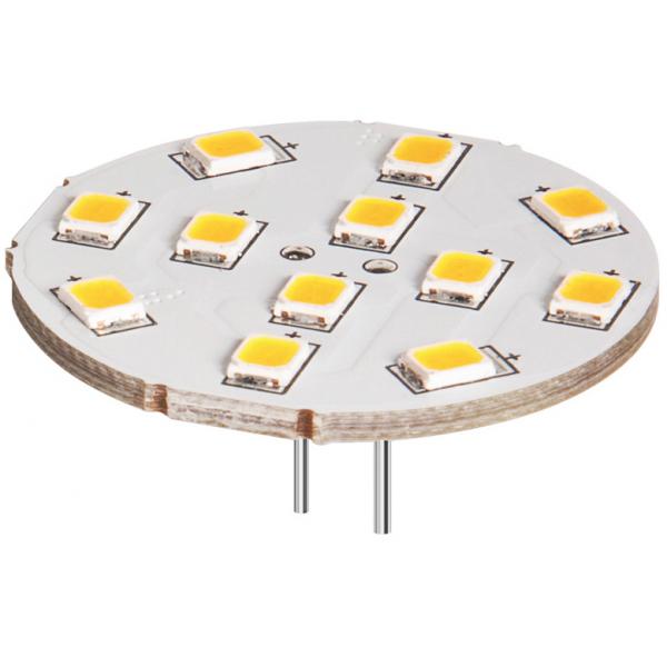 lampe led g4 12v 2w blanc chaud diam tre 30 mm 5 50 lampes led 12v culot g4. Black Bedroom Furniture Sets. Home Design Ideas