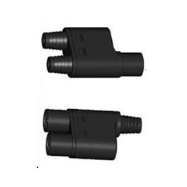 Paire de connecteurs de dérivation pour 2 panneaux solaires Multi-Contact MC3T