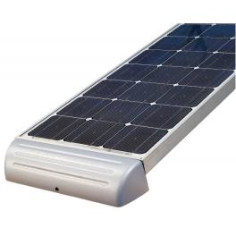 Support de fixation aluminium spoiler 650 mm pour panneaux solaires