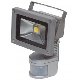 Projecteur LED 10W blanc neutre IR IP54 extérieur