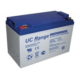 Batterie GEL 12V 100Ah Ultracell gamme UCG