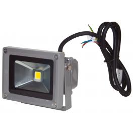 Projecteur LED 10W 12/24V blanc neutre IP65 extérieur