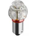 Lampe LED culot BA9S 0W25 12VDC rouge