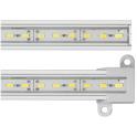 Réglette LED blanc neutre aluminium 81 LED SMD 0,50 m
