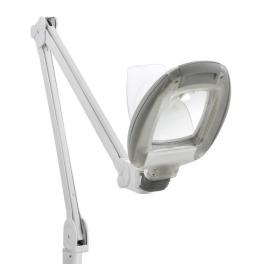 Lampe loupe LED professionnelle étau 5 dioptries Weelko (14 LEDS haute luminosité)
