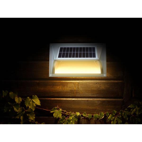 eclairage solaire led ip64 automatique en aluminium 42 90 eclairage solaire ext rieur. Black Bedroom Furniture Sets. Home Design Ideas