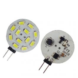 Lampe LED G4 10-30V 2W5 blanc chaud diamètre 30 mm