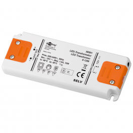 Alimentation LED 230VAC-12VDC 0-12W slim