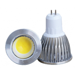 Spot LED MR16 5W 12V blanc chaud 45°