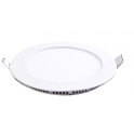 Plafonnier LED 18W 230V ultra fin encastrable blanc chaud