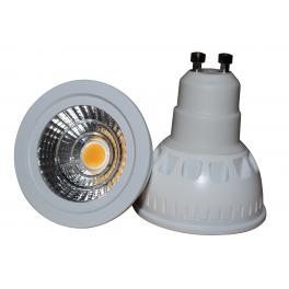 Spot LED GU10 230V 5W 230V blanc chaud 60°