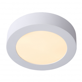 Plafonnier LED rond 6W blanc chaud montage apparent