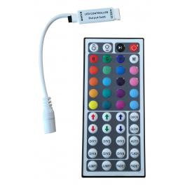 Contrôleur RGB 44 touches sans fil pour rubans et réglettes LED