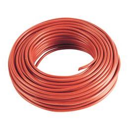 5 m Cable rouge 2,5 mm2 pour cablage des systèmes énergétiques