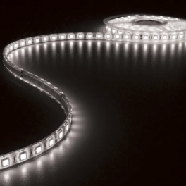 Ruban LED blanc froid 12V 8 mm x 5m 600 LEDS IP65