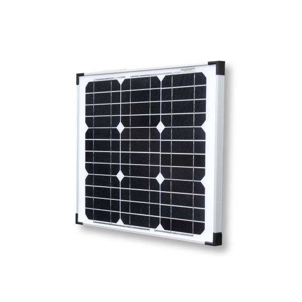 panneau solaire monocristallin 30w 12v 72 50 panneaux solaires. Black Bedroom Furniture Sets. Home Design Ideas