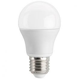 Ampoule LED bulbe douille E27, 5W5 230V, blanc chaud