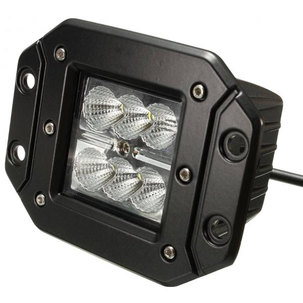 projecteur led de travail 18w encastrable ip67 noir  5 Bon Marché Projecteur Led Shdy7