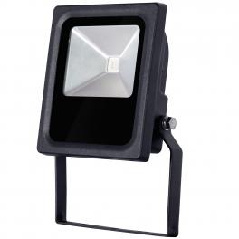 Projecteur LED 10W RVB RF modèle slim extra-plat