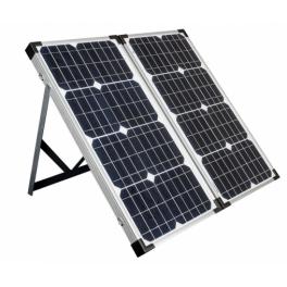 Valise solaire 60W avec ses accessoires