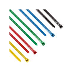 50 Colliers de serrage type RILSAN / COLSON 5 couleurs 200 x 4,8 mm