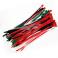85 Colliers de serrage. Serre-câbles attache-câbles Multicolore 150 x 3,6 mm