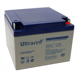 Batterie plomb 12V 26Ah Ultracell gamme UL