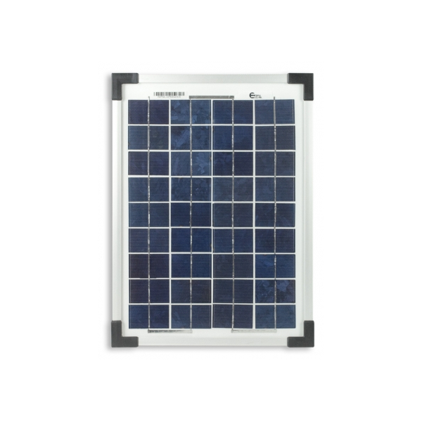 kit panneau solaire polycristallin 10w 12v av r gulateur 5a et accessoires de c blage 59 90. Black Bedroom Furniture Sets. Home Design Ideas