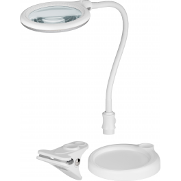 Lampe-loupe LED 2en1 lentille 100 mm, 3 dioptries (30 LEDS)