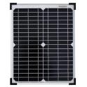 Panneau solaire 20W monocristallin