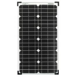 Panneau solaire monocristallin 30W 12V