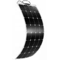 Panneau solaire semi-flexible 100W monocristallin