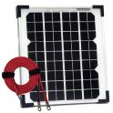 Panneau solaire 10W monocristallin avec câble 2m50