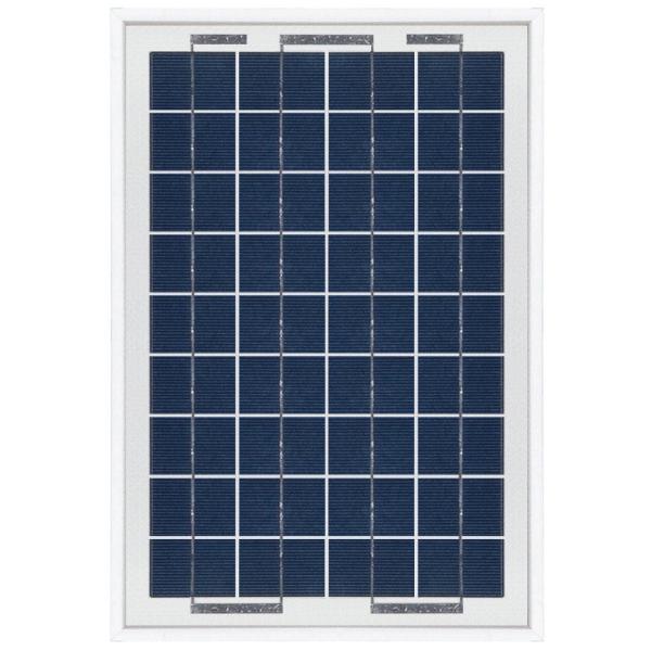 kit panneau solaire polycristallin 10w 12v et r gulateur. Black Bedroom Furniture Sets. Home Design Ideas
