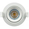 Spot LED 7W 230V encastrable orientable teinte blanc chaud