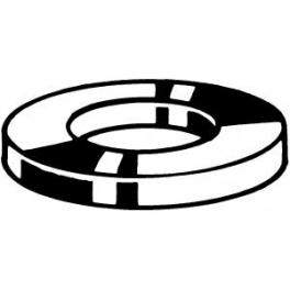 10 Rondelles plates M2,5 Acier Inoxydable A2