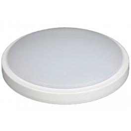 Plafonnier LED type Hublot 18W blanc neutre IP65 avec détecteur
