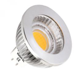 Spot LED GU5.3 12V COB 6W blanc chaud 80°