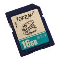 Carte mémoire SDHC, Classe de vitesse UHS1 & C10, Capacité  16Goctets