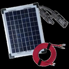 Panneaux solaires avec câbles